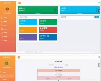 2020带商品消费双轨量碰层碰无直推团队直销系统 PC+WAP源码完整无加密商业运营版